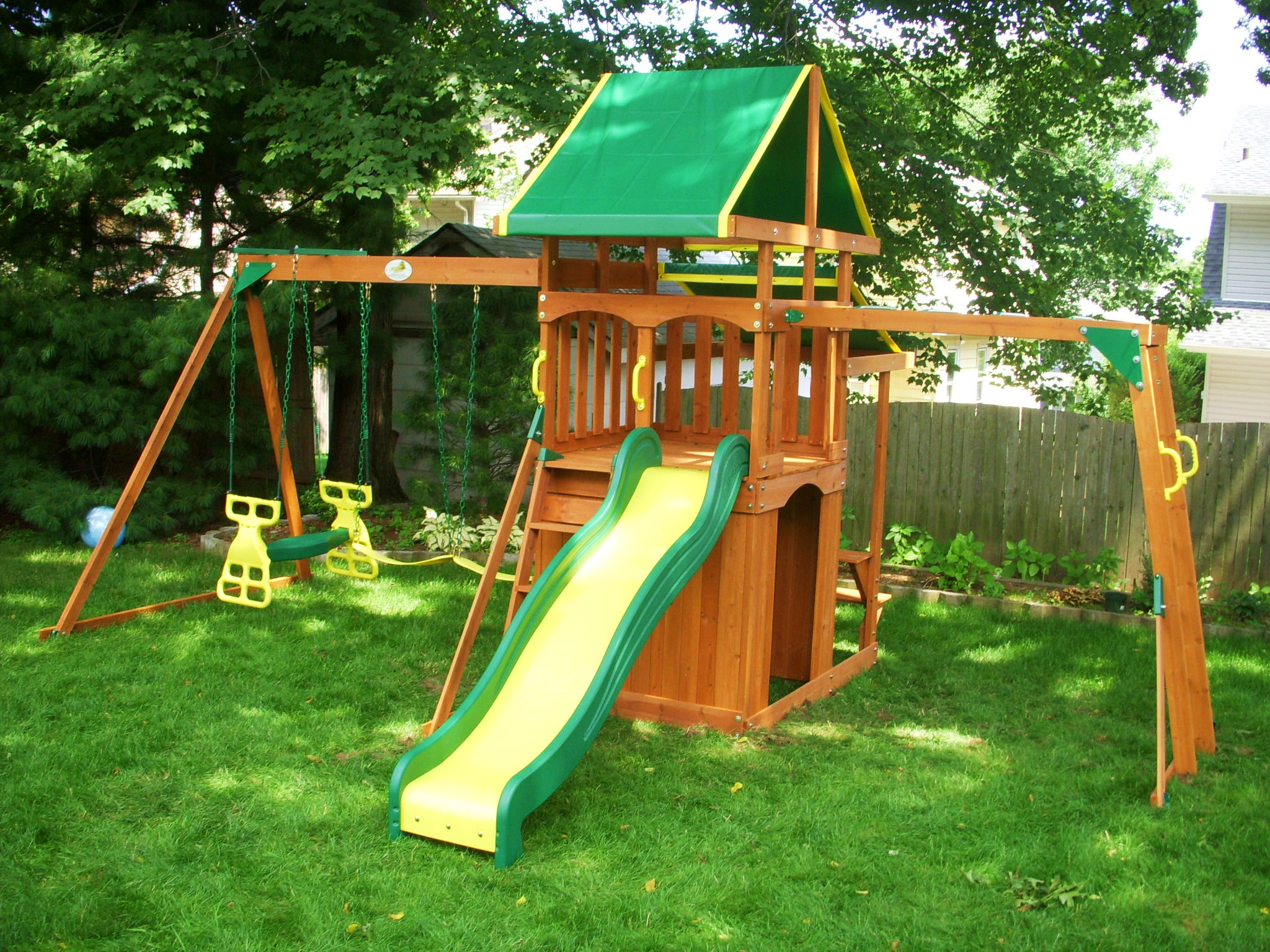 pin playset experts of kensington installation swing summit valleyview team lifetime a for customer by assembled costco cedar furniture md deluxe in assembly set