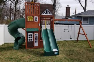 Hilltop Swing set Costco